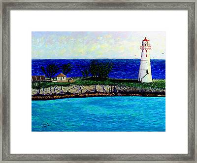 Lighthouse IIi Framed Print by Stan Hamilton