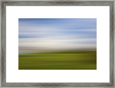 Lighthouse In The Clouds X Framed Print by Jon Glaser
