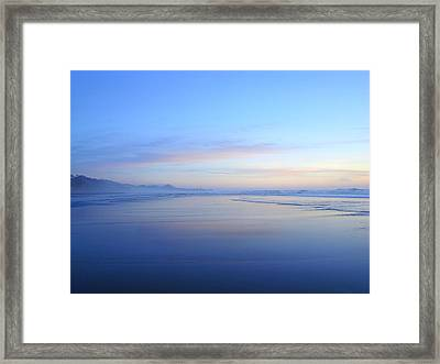 Lighthouse In The Distance Framed Print