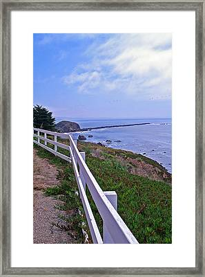 Lighthouse Look Out Framed Print