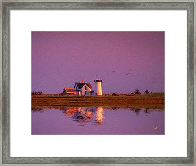 Lighthouse Framed Print by Michael Petrizzo