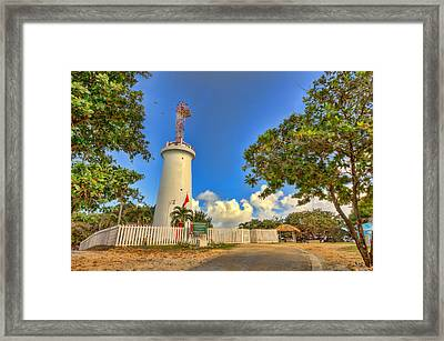 Lighthouse Framed Print by Nadia Sanowar