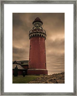 Lighthouse Framed Print by Odd Jeppesen