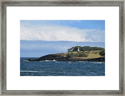 Framed Print featuring the photograph Lighthouse by Pamela Walton