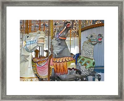 Lighthouse Park Carousel Framed Print