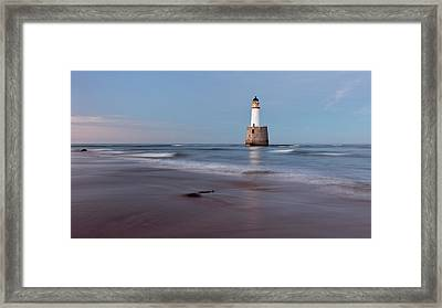 Framed Print featuring the photograph Lighthouse by Grant Glendinning