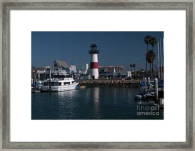 Lighthouse Framed Print by Rod Wiens