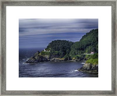 Lighthouse Sanctuary Framed Print