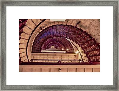 Lighthouse Stairwell Framed Print