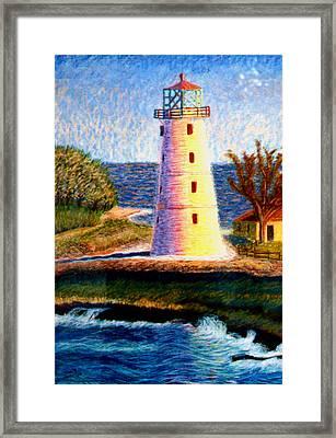 Lighthouse Framed Print by Stan Hamilton