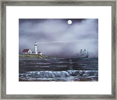 Lighthouse  Framed Print by Tony Rodriguez