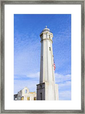 Lighthouse Tower Framed Print
