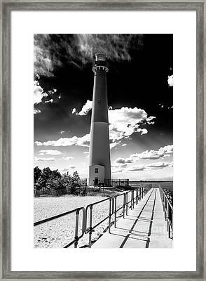 Lighthouse Walk Framed Print