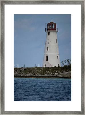 Lighthouse Watch Framed Print