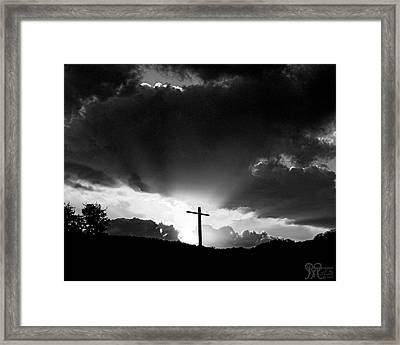 Lighting Faith Framed Print