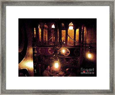 Framed Print featuring the photograph Lighting by Janelle Dey