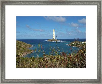 Lighting The Way Framed Print by David and Lynn Keller