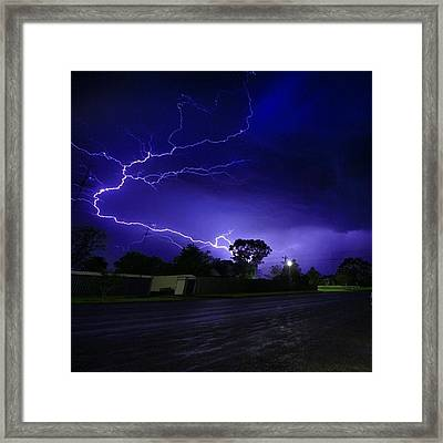 Lighting  Framed Print by Todd Williams