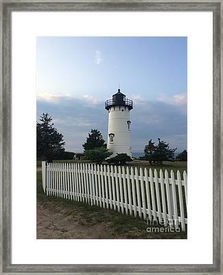 Lighting Up Martha's Vineyard Framed Print