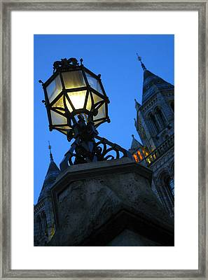 Lighting Up History Framed Print by Jez C Self