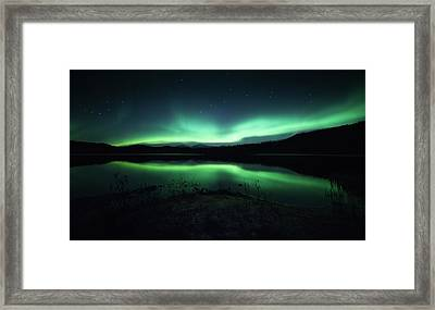 Lighting Up The Dark Framed Print