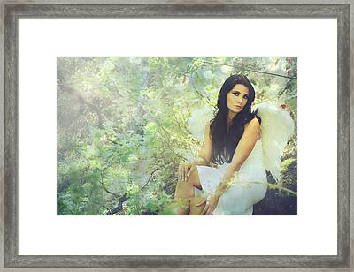Lightness Framed Print by Laurie Search