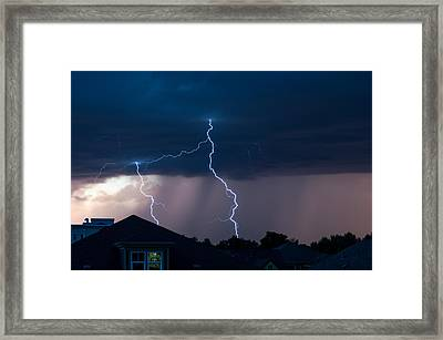 Lightning 2 Framed Print