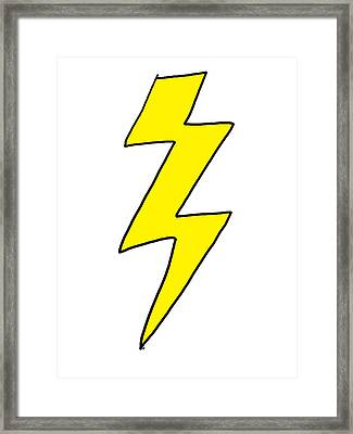 Lightning Bolt - Scott Pilgrim Vs The World Framed Print