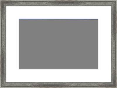 Lightning Over North Boulder Colorado - Cropped Framed Print by James BO  Insogna