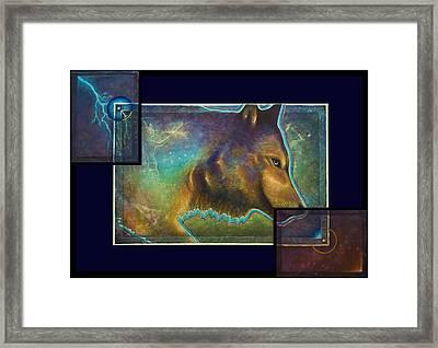 Lightning Path Framed Print