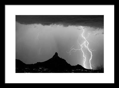White Cloud Photographs Framed Prints