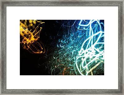 Retina Burn Framed Print by John Williams