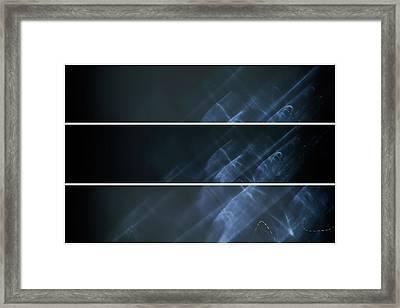 Ghost Smoke Framed Print by John Williams