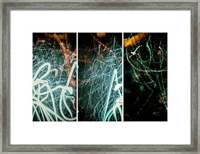 Fusion Of Three Framed Print by John Williams