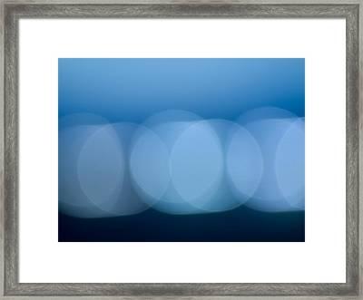 Lights Framed Print by Felix M Cobos