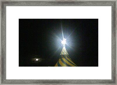 Lights Framed Print by Frankie Graham