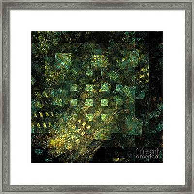 Lights In The City Framed Print