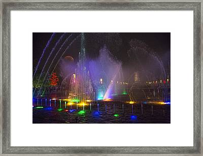 Lights Of A Thousand Wishes Framed Print by Betsy Knapp