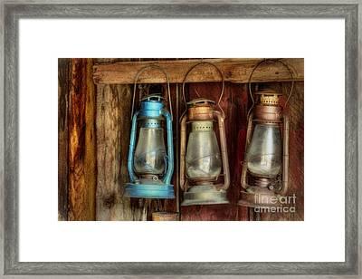 Lights Of Bodie Framed Print