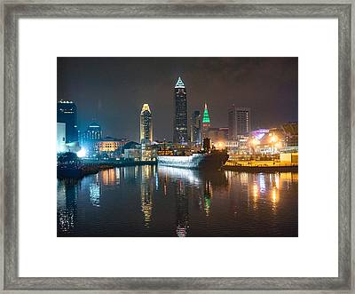 Lights Of The Sixth City Framed Print by Calypso Pictures