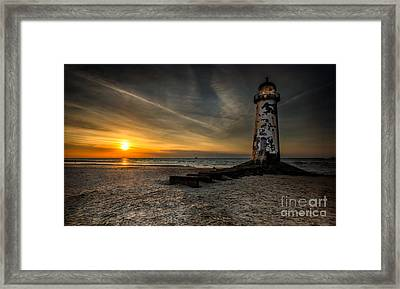 Lights Out Framed Print by Adrian Evans