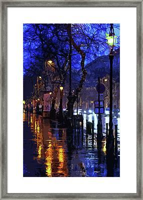 Lights Up The Night Framed Print