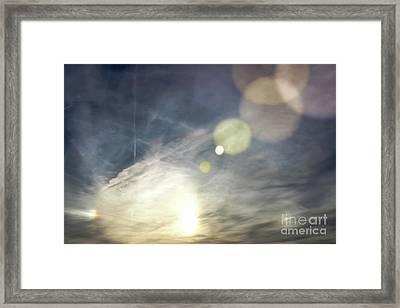 Framed Print featuring the photograph Lightshow by Colleen Kammerer