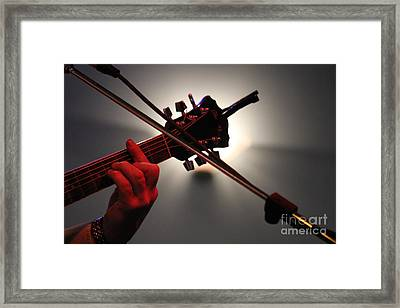 Framed Print featuring the photograph Lightsong by Jesse Ciazza