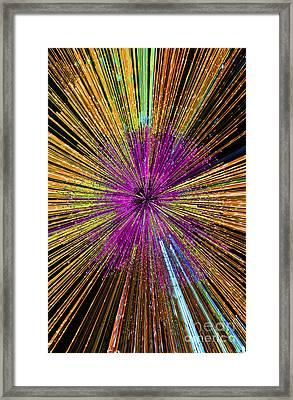 Lightspeed.. Framed Print by Nina Stavlund