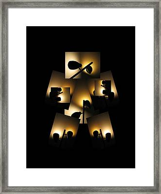 Lightweight Boxer Framed Print by Darryl  Kravitz