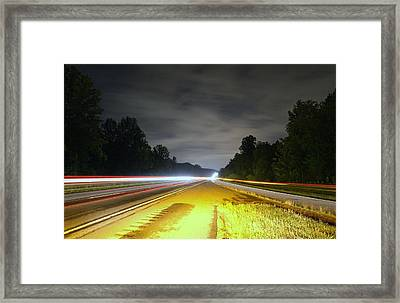 Framed Print featuring the photograph Lightworks by Alex Grichenko