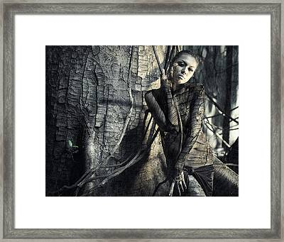 Lignum Framed Print by Hardibudi