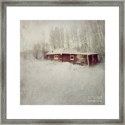 Like A Book With Blank Pages Framed Print by Priska Wettstein