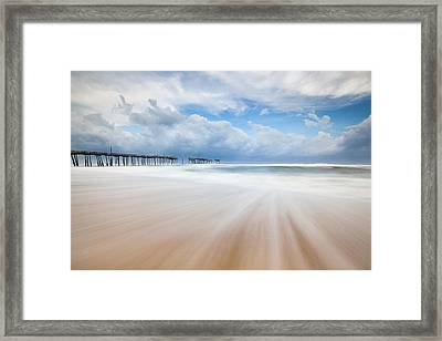 Like A Dream Into The Unknown Framed Print